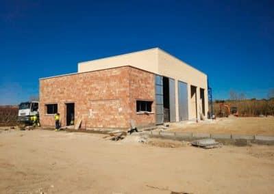 CONSTRUCCIÓ D'EDIFICI PER A DEPURADORA A MAELLA-06