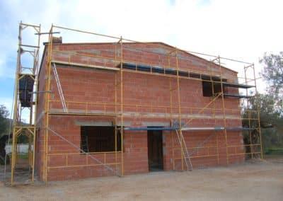 CONSTRUCCIO DE XALET-33